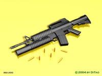 M4A1 M203.rar