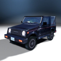 suv vehicle 3d 3ds
