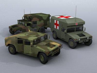 d hummers vehicles model