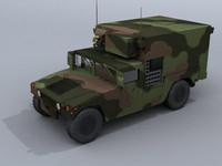 Hummer Shelter 3ds&MAX