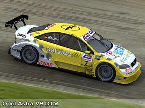 german race touring 3d model
