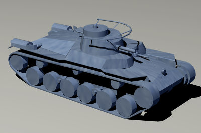 3ds max type 97 chi-ha