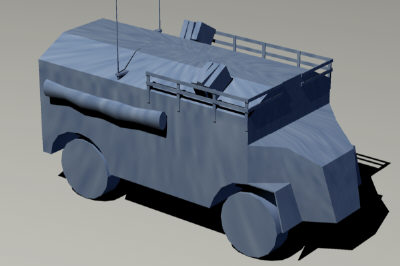 free vehicle dorchester e 3d model