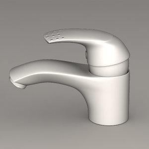 bathroom faucet 3d max