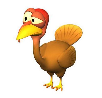 turkey zipped 3d max