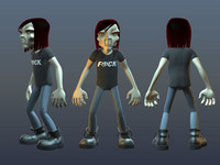Rocker Character