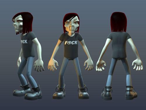 3d bones character studio