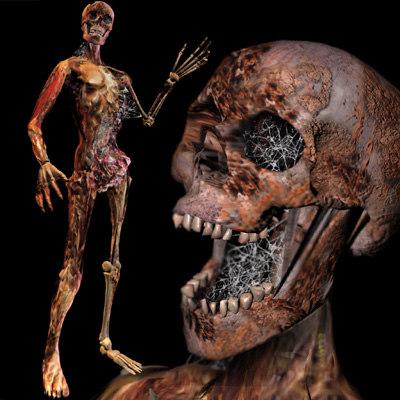 maya rigged zombie