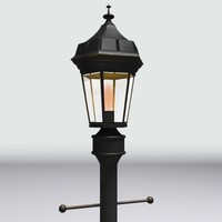 3ds max victorian street lamp