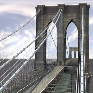 Brooklyn Bridge (Maya)