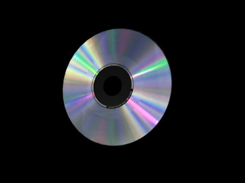 3d model compact disc