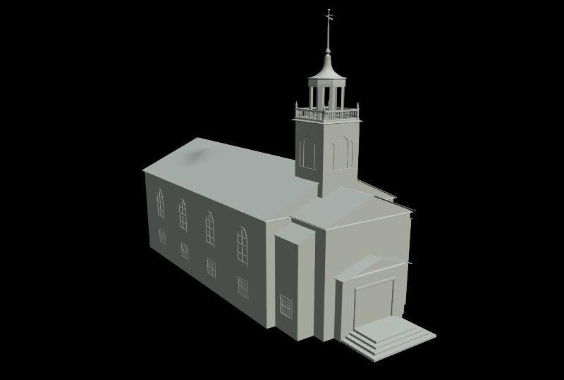 courthouse 147654 3d model