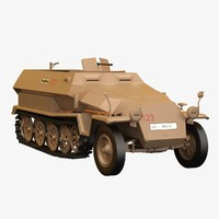 Sd Kfz 251/1 Ausf C MP