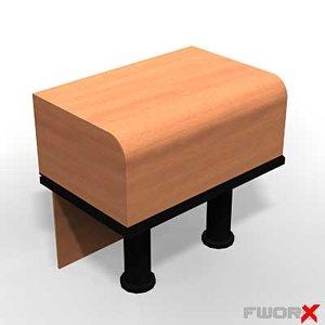 counter desk max