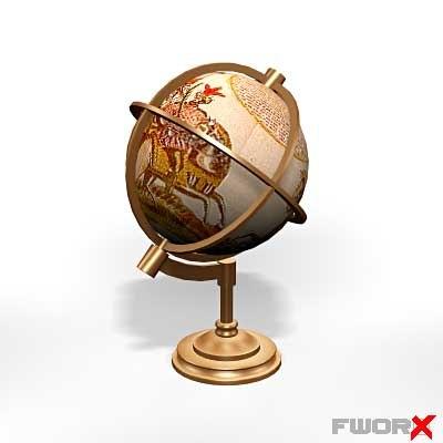maya globe