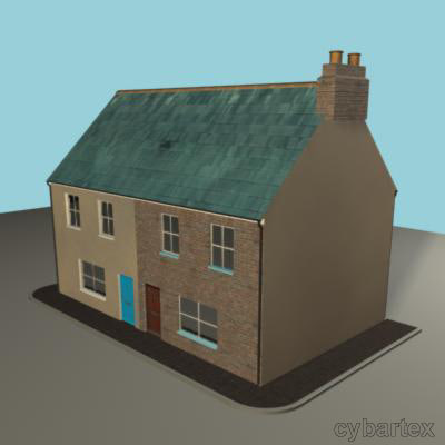 3ds max victorian house