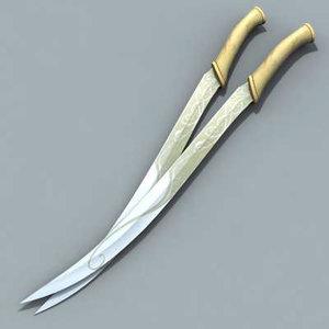 maya sword legolas