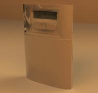 3d model widget clock
