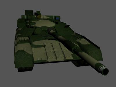 3d soviet t80 model