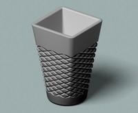 cut vase 3d model