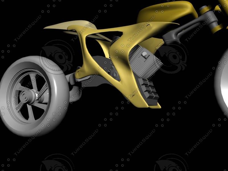 free motor 3d model