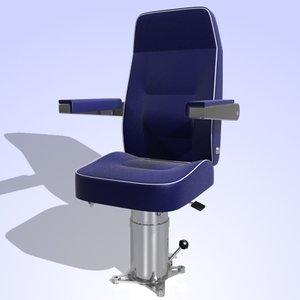 3d techno chair