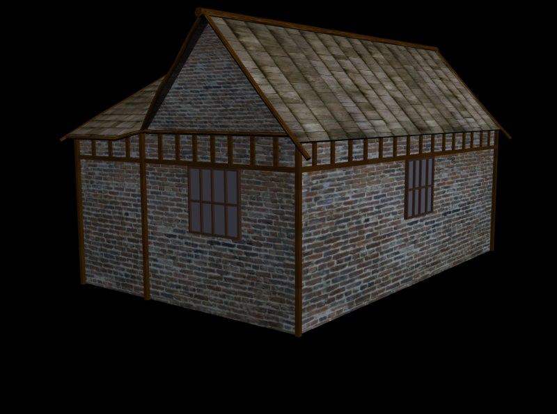 house farm 3d max
