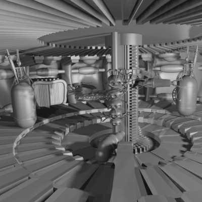 3d arena model