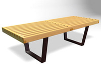 3ds max nelson bench