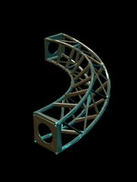 Twisted + Truss.3ds