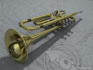 lightwave trumpet brass