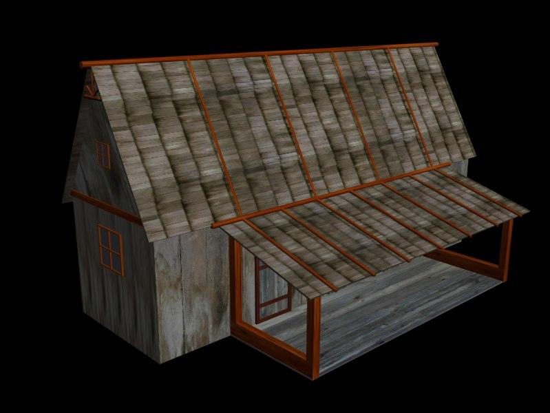 3d model house farm