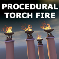 Procedural Fire Model (3ds max 6 and higher)