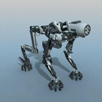 amee robot 3d model
