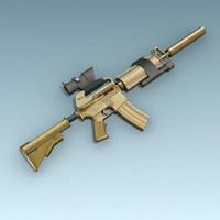 Colt M4A1 Delta force.zip