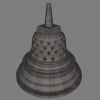 3ds max stupa temple