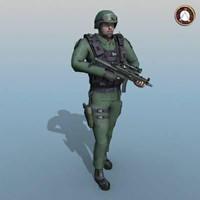 3d soldier sgc model