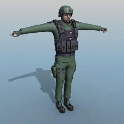 max ranger soldier human