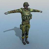 ranger soldier human max
