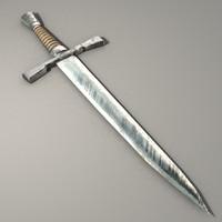 3d dagger