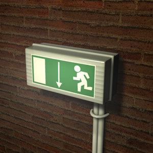 c4d exit signpost