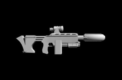 gun starcraft: ghost c-20a 3ds