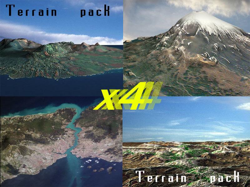 desert terrain mountain max