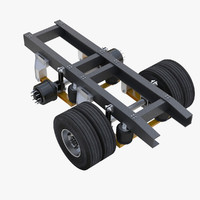 classic suspension 3d model