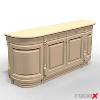 kitchen counter 3d max