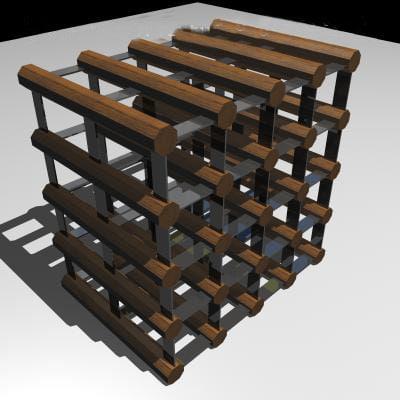 3ds wine rack