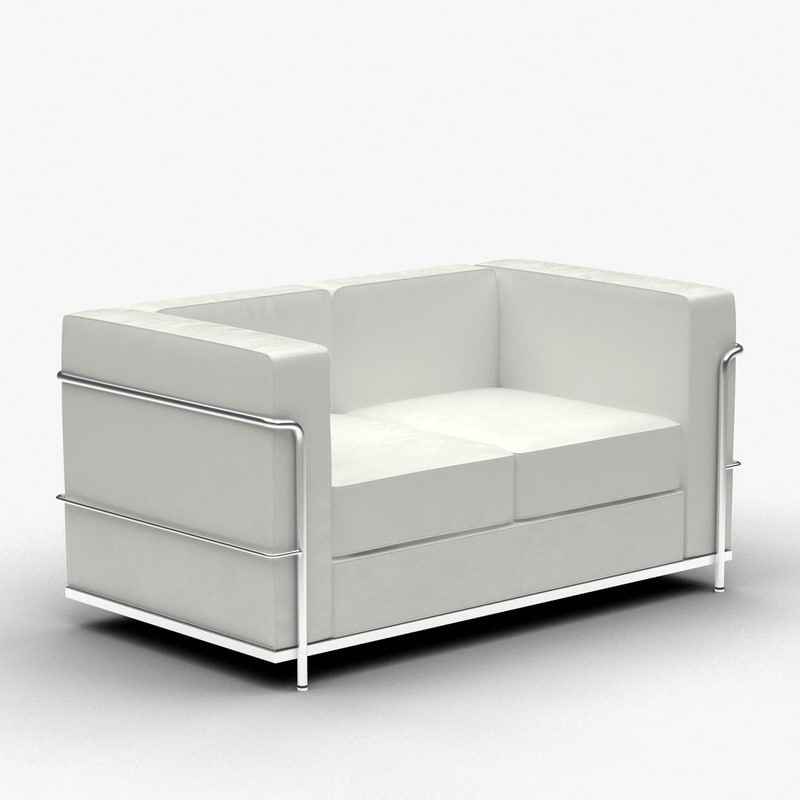 furniture sofa settee 3ds