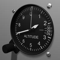 3d altimeter instrument