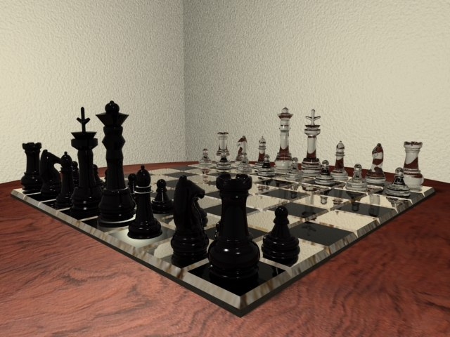 maya chess board