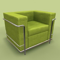 petit comfort chair 3d model